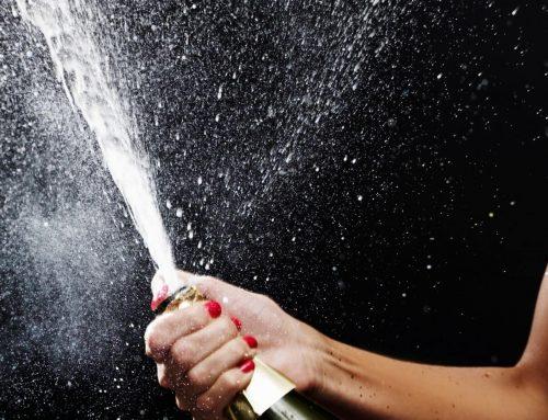 Tijd voor champagne